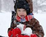 Những hình ảnh thú vị bất chấp bão tuyết tại Mỹ