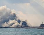 Tàu chở dầu Iran phát nổ trên biển Hoa Đông, Trung Quốc tạm đình chỉ hoạt động cứu hộ