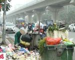 Bãi rác bị phong tỏa 3 ngày, phố phường Hà Nội ngập trong rác