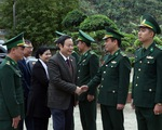 Phó Chủ tịch Quốc hội Phùng Quốc hiển thăm và chúc tết tại Lai Châu
