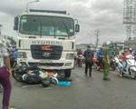 Xe container chạy 45 km/h khi đâm hàng loạt xe máy tại Long An