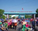 Hơn 10.000 công nhân ở Trà Vinh bị buộc thôi việc trước Tết
