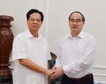 Đồng chí Nguyễn Thiện Nhân thăm, chúc Tết nguyên lãnh đạo Đảng, Nhà nước