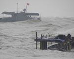 Hoàn lưu bão số 1 gây mưa to, gió mạnh ở nhiều vùng biển