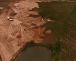 Núp bóng cải tạo đất để khai thác cát trái phép