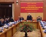 Tổng Bí thư, Chủ tịch nước Nguyễn Phú Trọng chủ trì Hội nghị Quân ủy Trung ương