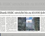 Ngân hàng HSBC tiếp tục cắt giảm 10.000 nhân viên tại châu Âu