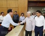 Tổng Bí thư, Chủ tịch nước Nguyễn Phú Trọng tiếp xúc cử tri