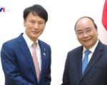 Thủ tướng Nguyễn Xuân Phúc tiếp Thống đốc tỉnh Kagoshima, Nhật Bản