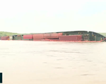 Sự cố chìm tàu tại Cần Giờ: Tập trung mọi biện pháp ngăn ngừa sự cố tràn dầu