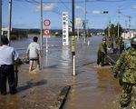 Máy giặt lưu động giúp người dân bị ảnh hưởng do bão tại Nhật Bản - ảnh 1