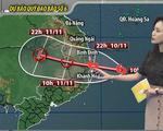 Bão số 6 gây mưa lớn ở miền Trung, nguy cơ cao xảy ra lũ quét, sạt lở đất