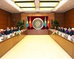 Chủ tịch Hạ viện Kazakhstan thăm Đại học Hà Nội - ảnh 1