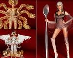 Cận cảnh trang phục truyền thống 'khủng' của Hoàng Thùy tại Miss Universe 2019