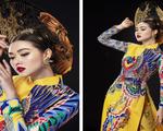 Tường San tự hào về áo dài Việt Nam