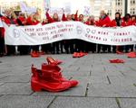 Tuần hành phản đối bạo lực với phụ nữ ở Bỉ