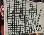 Những bức vẽ ám ảnh của trẻ em tị nạn ở biên giới nước Mỹ