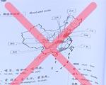 Giáo trình dạy tiếng Trung có bản đồ in hình đường lưỡi bò