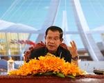 Điện, Thư chúc mừng 66 năm Quốc khánh Campuchia - ảnh 1