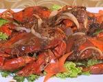 Cua 25 món xuất hiện tại Liên hoan ẩm thực Cà Mau