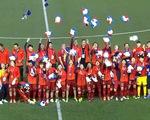 SEA Games 30: Khoảnh khắc ĐT bóng đá nữ Việt Nam đăng quang chức vô địch