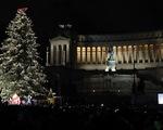 Thắp đèn cây Giáng sinh lớn nhất thế giới ở Italy