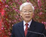 Tổng Bí thư, Chủ tịch nước Nguyễn Phú Trọng chúc Tết lãnh đạo Đảng, Nhà nước, đồng bào, chiến sĩ cả nước