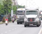 Công an vào cuộc xác minh đoàn xe đầu kéo vượt đèn đỏ ở Đà Nẵng