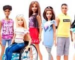 Ra mắt búp bê Barbie với xe lăn và chân giả