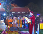 Đặc sắc Lễ hội phát lương Đức Thánh Trần đền Trần Thương năm 2019