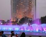Đài phun nước lớn nhất thế giới với 128 vòi phun - ảnh 1