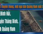 Lật thuyền thúng, một ngư dân Quảng Nam mất tích