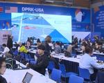 Không khí làm việc của phóng viên quốc tế tác nghiệp tại Trung tâm báo chí quốc tế