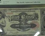 Bộ ba tiền giấy cổ hiếm dự kiến bán được giá 8 triệu USD