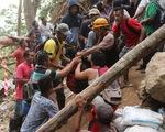 Sập hầm mỏ ở Indonesia, 43 công nhân bị mắc kẹt