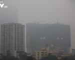 Hiện tượng sương mù khiến tình trạng ô nhiễm không khí tại Hà Nội gia tăng