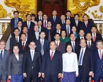 Thủ tướng Nguyễn Xuân Phúc: 'Việt Nam sẽ luôn hỗ trợ nhân dân Lào'