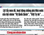 """Tuyên phạt 33 năm tù các thành viên tổ chức khủng bố """"Việt Tân"""" - ảnh 1"""