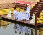 Thái Lan thu thập nước thiêng chuẩn bị cho lễ đăng quang Nhà vua