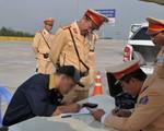 Ra quân xử lý lái xe không thắt dây an toàn