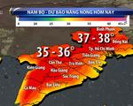 Nắng nóng gay gắt ở Nam Bộ kéo dài đến cuối tuần