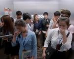 Mối tình đầu của tôi - Tập 54: An Chi 'muối mặt' vì bị Minh Huy vu oan xì hơi trong thang máy