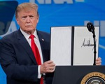 Mỹ rút khỏi Hiệp ước mua bán vũ khí quốc tế