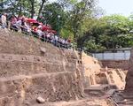 Phát hiện dấu tích ao hồ tại Hoàng thành Thăng Long