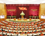 Tổng Bí thư, Chủ tịch nước Nguyễn Phú Trọng khai mạc Hội nghị Trung ương 10, khóa XII - ảnh 2