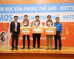 Trao giải cuộc thi Vô địch tin học văn phòng thế giới Viettel 2019