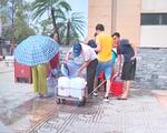 Rò rỉ đường ống sông Đà, hàng nghìn hộ dân tại Hoài Đức (Hà Nội) mất nước