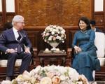 Phó Thủ tướng Phạm Bình Minh hội đàm với Bộ trưởng Bộ Ngoại giao Australia - ảnh 1