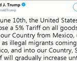Tổng thống Mỹ sử dụng thuế ngăn chặn dòng người nhập cư