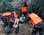 Mưa lớn gây ngập lụt ở miền Nam Trung Quốc